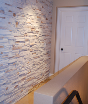 ledge stone wall interior